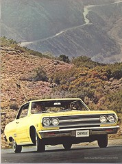 Pages from a 1965 Chevrolet full line brochure (Hugo-90) Tags: 1965 chevrolet car auto automobile ads advertising brochure chevelle malibu supersport ss