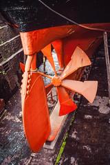 Propellor and Rudder (Serendigity) Tags: unitedkingdom steamship drydock ssgreatbritain 19thcentury museum bristol propellor oceanliner rudder ship uk tallship england gb
