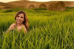 Nicole (austinspace) Tags: woman portrait cheney washington spokane brunette dress sunset dusk magichour ewu eastern