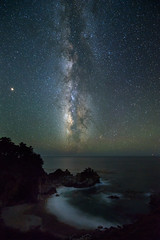 The MilkyWay (Vimal V P) Tags: milkyway astrophotography night galaxy nikond750 nikon 1424 landscape nightscape vimalvp vimal beach california usa