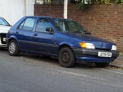 1991 Ford Fiesta LX (Neil's classics) Tags: vehicle 1991 ford fiesta lx
