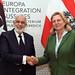 Außenministerin Karin Kneissl empfängt ihren Libyischen Amtskollegen Syala
