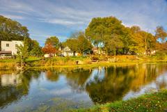 Autumn along the Canal (kendoman26) Tags: hdr aurorahdr2019 skylumsoftware nikon nikond7100 tokinaatx1228prodx tokina tokina1228 imcanal iandmcanal imcanaliandmcanal morrisillinois