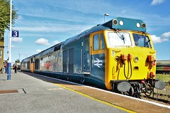 50049 & 50007 (stavioni) Tags: class50 hoover diesel rail railway train locomotive 50049 50007 50011 50006 centurion hercules neptune defiance