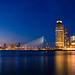 Rotterdam's skyline