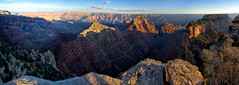 Sunset on Grand Canyon (swissuki) Tags: grandcanyon northrim grandcanyonnationalpark landscape sunset nature