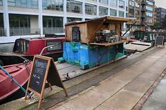 Coffee Shop Boat (eibonvale) Tags: london regentscanal islington boat canal waterway