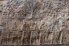Friso egipcio (Ce Rey) Tags: antiguo egipto egipt ancient museo museum relieve friso pared textura historia history bristishmuseum wall