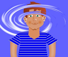 feeling dizzy - סחרחורת (yoel_tw) Tags: dizzy inkscape photofiltre svg digitalart סחרחורת אינקסקיים פוופילטר ציור vertigo dizziness giddy wobbly