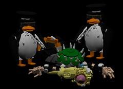 begone (Folisk) Tags: bowsette lego moc ldd system nintendo supermario supercrown bowser pov meme shitpost ayyk92 penguin noanime koopa