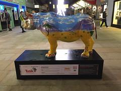 Tusk Rhino Trail (London and more) Tags: london england britain westminster tuskrhinotrail rhino tusk trail art ronniewood