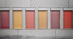 Shutters (vincentag) Tags: paris france minimalistic colors wall details gred red crimson orange yellow windows shutters