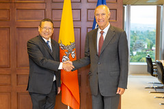 WIPO Director General Meets Bhutan's Head of Delegation to the 2018 WIPO Assemblies (WIPO | OMPI) Tags: assemblies bhutan bilateralmeeting directorgeneral francisgurry ompi wipo