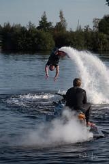 Dive (PaulHoo) Tags: nikon d750 2018 water speed splash jetski flyboard action sport adventure vinkeveen people