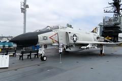 2018-090357A (bubbahop) Tags: 2018 amtraktrip sandiego california usa ussmidway cv41 museum aircraftcarrier flight deck ship navy phantom fighter jet
