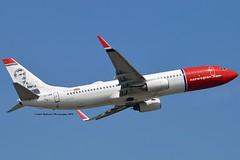 """Edvard Munch"" Norwegian Air International EI-GBB Boeing 737-86N Winglets cn/36809-2647 @ EGKK / LGW 28-05-2018 (Nabil Molinari Photography) Tags: edvardmunch norwegian air international eigbb boeing 73786n winglets cn368092647 egkk lgw 28052018"