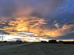 Sunset: Fire Sky (northern_nights) Tags: firesky crepuscularrays sunset sky clouds cheyenne wyoming atmosphericoptics