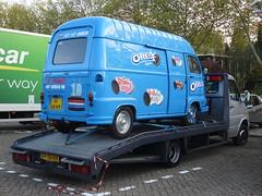"""1978 Renault Estafette """"Oreo"""" (harry_nl) Tags: netherlands nederland 2018 eindhoven renault estafette oreo 91ab49 sidecode3"""