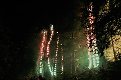 2018 - 4.10.18 Enchanted Forest (123) (marie137) Tags: forest lights trees show marie137 bright colourful pitlochry treeman attraction visit entertainment music outdoors sculptures wicker food drink family people water animation