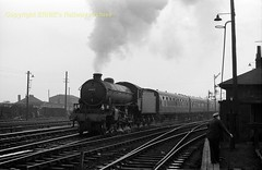 Dundee (said to be) 61262 Aug65 PC547 (Ernies Railway Archive) Tags: nbr lner lms cr scotrail dundeestation