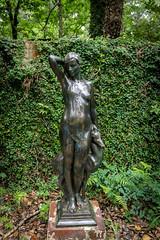 Deep in the Forest (dayman1776) Tags: brookgreen gardens south carolina sony a6000 sculpture sculptor statue skulptur escultura sculptures garden beautiful figurative art museum outdoor bronze nude girl woman female sensual allegory