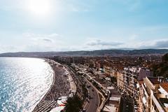 Nice (FOXTROT|ROMEO) Tags: nica nice nizza france provence travel city cityscpae cityscape ocean beach sky clouds architecture promenade cote da zur