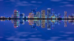 City of Fort Lauderdale, Broward County, Florida, USA (Photographer South Florida) Tags: fortlauderdale ftlauderdale city cityscape urban downtown skyline browardcounty southflorida density centralbusinessdistrict skyscraper building architecture commercialproperty cosmopolitan metro metropolitan metropolis sunshinestate realestate veniceofamerica newriver lauderdalebythesea reflection