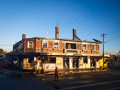general gordon after the fire (AS500) Tags: general gordon fire stpeters sydenham pub