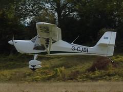 G-CJBI Eurofox 912 (c/n 376-15386) Popham (andrewt242) Tags: gcjbi eurofox 912 cn 37615386 popham
