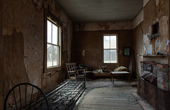 Room With Fireplace (KeithJ) Tags: interior bodie ghosttown fireplace vacant abandoned monocounty