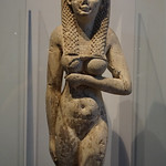 A Statue of a Ptolemaic Queen, the Ground Floor, the Alexandria National Museum, the Mediterranean, Egypt. thumbnail