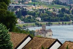 Het doel: Chateau Chillon. (limburgs_heksje) Tags: zwitserland schweiz swiss meervangeneve genfersee lacleman grensmeer