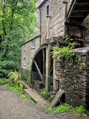 Cotehele Mill (PhilnCaz) Tags: philncaz scenic historic history summer 2018 picturesque edited processed hdr high dynamic range tone mapped snapseed holiday omd em1 mark ii olympus olympusrevolution leica micro four thirds nt national trust nationaltrust uk united kingdom prebrexit saltash pl12 6ta flour mill cotehele water wheel industrial victorian grinding st dominick cornwall
