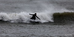Surfing (mootzie) Tags: surfer surfing surfboard wetsuit waves sea aberdeen beach scotland
