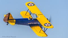 1942 Boeing E75 N4767V (dschultz742) Tags: 05052018 airplanes d810 pof planesoffame aircraft nikon nikonsigma outdoor sigma vehicle 1942boeinge75 n4767v biplane