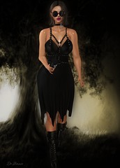 Witch Bitch. (delilahhannu) Tags: fashion secondlife blogging dirtyprincess monso epihany fameshedgo hair roleplay virtual
