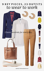23 Workwear Outfits From 9 Key Pieces Perfect for a Creative Office: Neutrals for Every Day | Not Dressed As Lamb, over 40 style (Not Dressed As Lamb) Tags: ways wear style outfit outfits ootd workwear office chic creative job interview suit