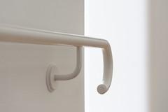 White Handrail (Jan van der Wolf) Tags: map154243v white wit monochrome monochroom leuning handrail museum indoor architecture architectuur