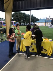 Enjoyed meeting tons of new friends at #NightOutAgainstCrime in AL Davis Park. Thanks @NOPDNews @mayorcantrell https://t.co/cRaPBUC3uW (YouthRunNOLA) Tags: youthrun running youth empowerment nola