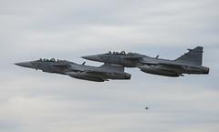 Saab JAS 39 Gripen (Boushh_TFA) Tags: saab jas 39 gripen 39826 826 39832 832 swedish air foce svenska flygvapnet försvarsmaktens flygdagar 2016 malmen airbase flygplats escf malmslätt linköping sweden nikon d600 nikkor 300mm f28 vrii