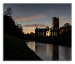 A nights walk at Fountains Abbey. D (johnhjic) Tags: johnhjic nikon d850 northyorkshire floodlight walk night fountains abbey