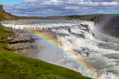 Rainbow falls (purrnuu) Tags: bláskógabyggð southernregion iceland is waterfall rainbow