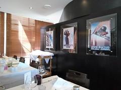 RESTAURANT LE TERMINUS (marsupilami92) Tags: frankreich france sudouest nouvelleaquitaine poitoucharentes charente 16 angoulême restaurant affiche terminus