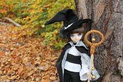 We went to nature to call the spirits the forest (Ninotpetrificat) Tags: volks hexe witch brujita magician magic forest woods magia dd dollfie dollfiedream ddh10 mdd hobby handmade kawaii cute halloween samhain japandoll asiandoll asiantoy toys