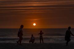 MIMIZAN PLAGE. LANDES. FRANCE. (Luis Sanz Díez) Tags: france francia landes landas agua mar atlántico sol
