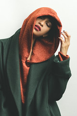 Basma (aminefassi) Tags: aminefassicom basmaelbachyry casablanca copyright drissidrissi fashion mode morocco people portrait shooting orange green color flash sony a7riii alpha 55mmf18 beauty aminefassi login