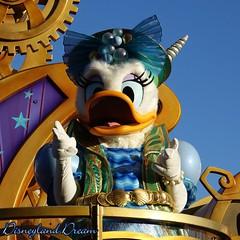 Daisy Duck (Disneyland Dream) Tags: daisy duck disney stars parade disneyland paris 25