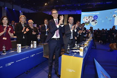 EPP Helsinki Congress in Finland, 7-8 November 2018 (More pictures and videos: connect@epp.eu) Tags: helsinki epp congress european people party finland november 2018 jyrki katainen vicepresident commission commissioner henna virkkunen mep sirpa pietikäinen johannes hahn david mcallister germany cdu kok manfred weber alex stubb csu