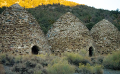 Charcoal Kilns (thechuckwalla) Tags: kiln pottery charcoal structure architecture outdoors outside landscape deathvalley california