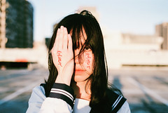 https://www.instagram.com/bryant9662002/ (カク チエンホン) Tags: film fuji contax g2 g90 portrait girl taiwan taipei